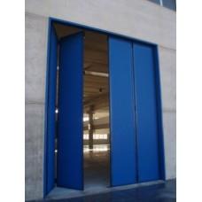Врата Хармоника двустранна