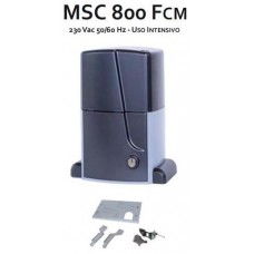 Италиански двигател за плъзгащи се врати до 1000кг MSC 800 FCM