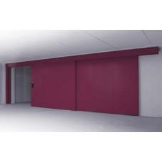 Телескопична пожароустойчива врата